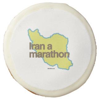 IRAN A MARATHON SUGAR COOKIE