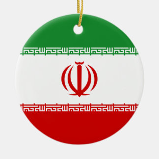 Irán Adorno Navideño Redondo De Cerámica