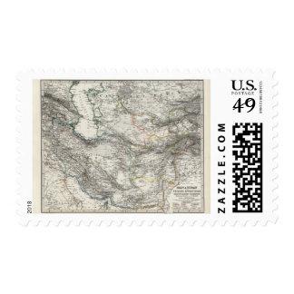Iran Afghanistan Pakistan Postage Stamp
