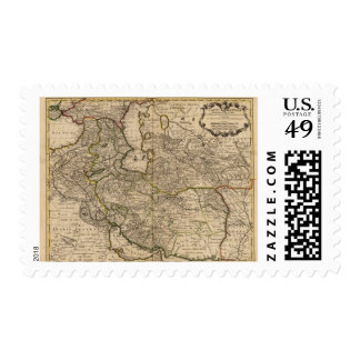 Iran and Asia Stamp