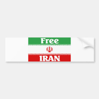 Iran Bumper Sticker