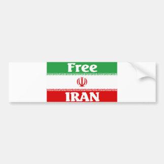 Iran Bumper Sticker Car Bumper Sticker