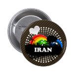 Irán con sabor a fruta lindo pin