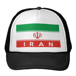 iran country flag symbol name text hat