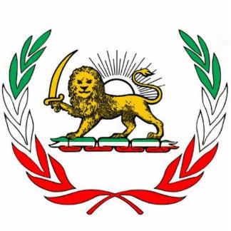 Iran customary flag statuette