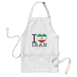 Irán Delantal