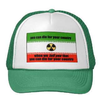 Iran: Die For Your Country Trucker Hat