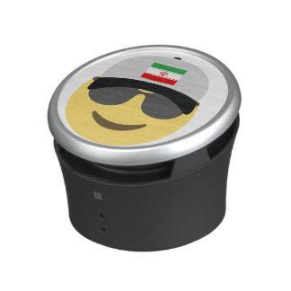 Iran Emoji Baseball Hat Speaker