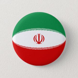 Iran Fisheye Flag Button