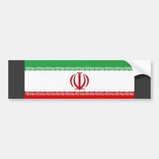 Iran Flag Bumper Sticker