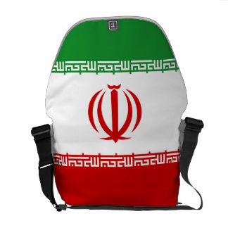 Iran Flag Courier Bags