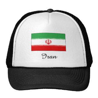 Iran Flag Design Mesh Hats