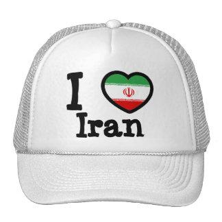 Iran Flag Hats