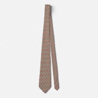 Iran Flag Honeycomb Tie