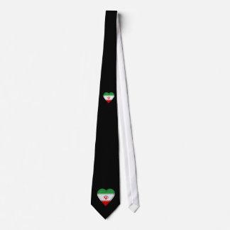 Iran flag neck tie