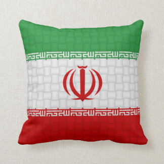 Iran flag pillow