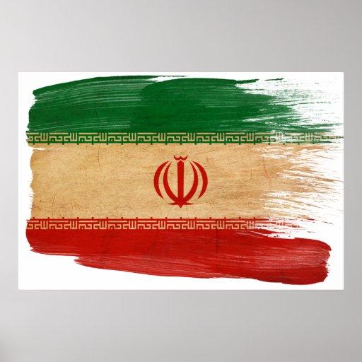 Iran Flag Posters