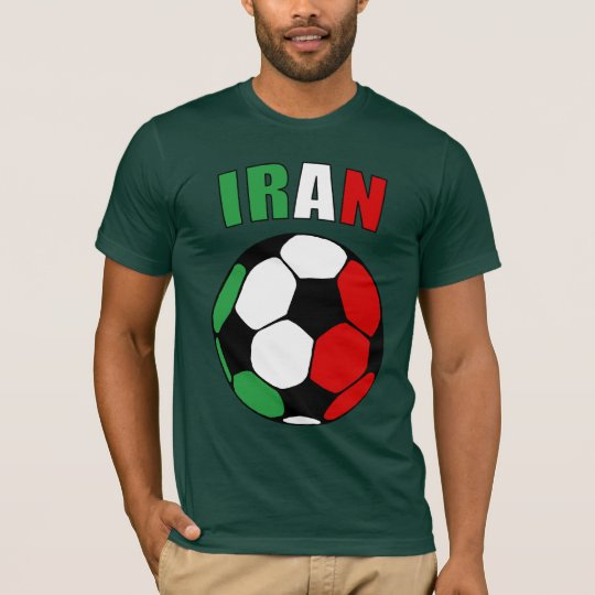Iran Footy (Dark) T-Shirt