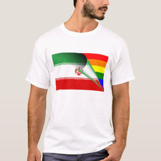 Iran Gay Pride Rainbow Flag T-Shirt