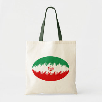 Iran Gnarly Flag Bag Budget Tote Bag