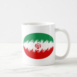 Iran Gnarly Flag Mug