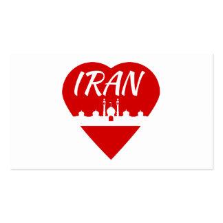 Iran Heart Business Card