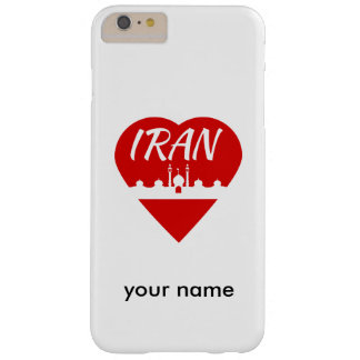 Iran Heart Mosque Barely There iPhone 6 Plus Case