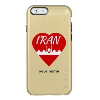 Iran Heart Mosque Incipio Feather® Shine iPhone 6 Case