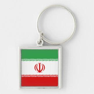 Iran IR , Flag, Coat of arms جمهوری اسلامی ایران Keychain