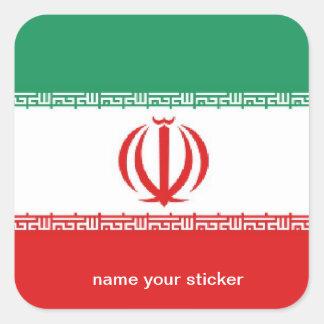 Iran iranian flag sticker
