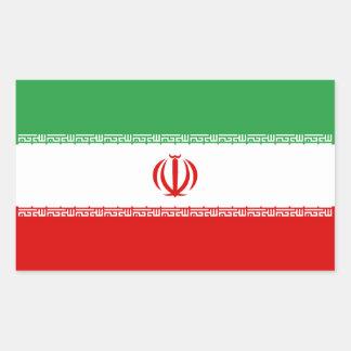 Iran/Iranian/Irani Flag Rectangular Sticker