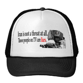 Iran is not a threat at all trucker hat
