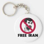 Irán libre - Ahmadinejad Llaveros Personalizados