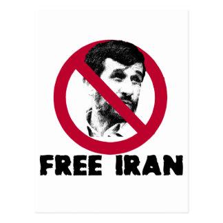 Irán libre - Ahmadinejad Postal