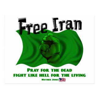 Irán libre, elecciones políticas 2009 de los postal