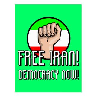 Irán libre postal