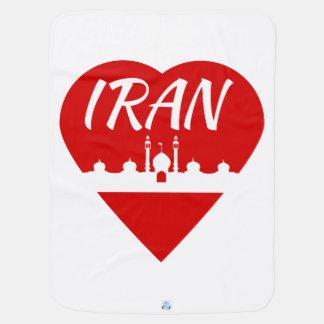 Iran love Iran Baby Blanket