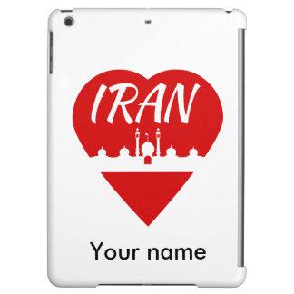 Iran love Iran iPad Air Cover