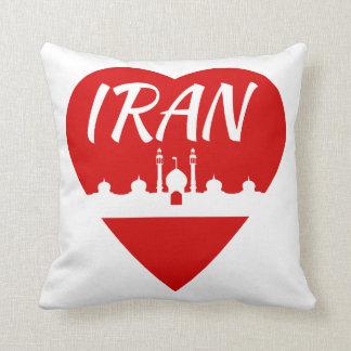 Iran love Iran Throw Pillow