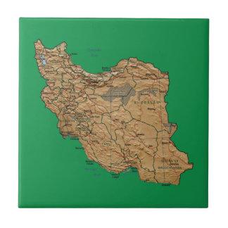 Iran Map Tile