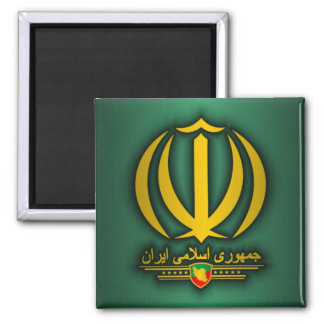 Iran National Emblem Magnet