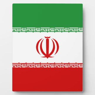 Iran Plaque