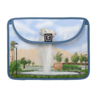 Iran Rock Fountain Shiraz MacBook Pro Sleeve