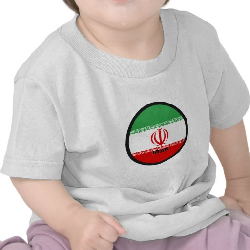 Iran Roundel quality Flag Shirt