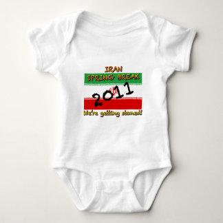 Iran Spring Break 2011 Baby Bodysuit