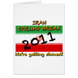 Iran Spring Break 2011 Card