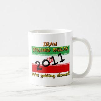 Iran Spring Break 2011 Classic White Coffee Mug
