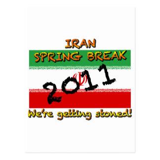 Iran Spring Break 2011 Postcard