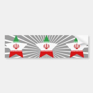 Iran Star Bumper Sticker