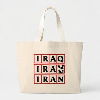Iran to Iraq Canvas Bags